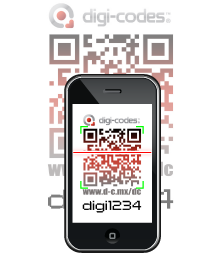 Take picture of the qr-code